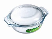 Pyrex Classic Clear Round Casserole 1lt