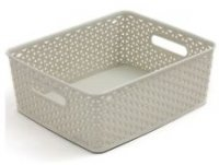 Curver My Style Storage Basket - Small - Off White