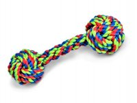 Petface Toyz Knotted Rope Bone