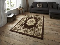 Think Rugs Marrakesh Brown - Various Sizes