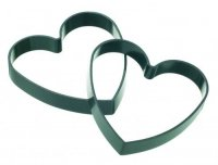 KitchenCraft Set of Non-Stick Heart Shaped Egg Rings