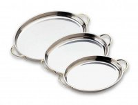 Grunwerg Au Gratin Dishes Oval Stainless Steel - 3 Sizes