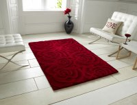 Think Rugs Valentine VL 10 Red - Various Sizes