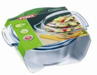Pyrex Classic Clear Round Casserole 2.5lt