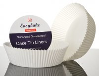 "Easybake Cake Tin Liners Round 7"" (Pack of 50)"