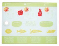 KitchenCraft Healthy Eating Worktop Protector 40cm x 30cm