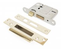 "PVD 3"" 5 Lever BS Sash Lock"
