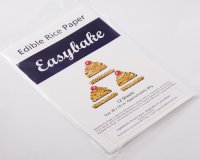 Easybake Edible Rice Paper Sheets White (Pack of 20)