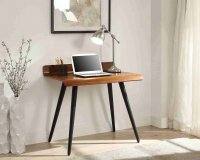 Jual Vienna 900 V Desk in Walnut