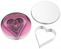 Judge Cutters - Heart Shapes (Set of 6)