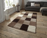 Think Rugs Majesty 2247A Check - Various Sizes