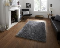 Think Rugs Monte Carlo Silver - Various Sizes