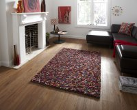 Think Rugs Pebbles Multi - Various Sizes