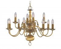 Searchlight Antique Brass Flemish Fitting