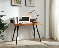 Jual Vienna 1100 V Desk in Walnut