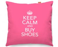 Kico Keep Calm 45x45cm Funky Sofa Cushion -  Buy Shoes