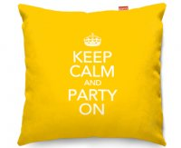 Kico Keep Calm 45x45cm Funky Sofa Cushion -  Party On
