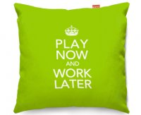 Kico Keep Calm 45x45cm Funky Sofa Cushion - Work Later