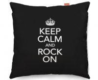 Kico Keep Calm 45x45cm Funky Sofa Cushion -  Rock On