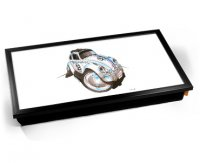 Kico Automotive Cushion 32 x 41cm Lap Tray  - Herbie Beetle