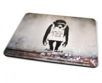 Kico Banksy Placemat - Chimp In Charge
