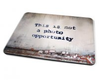Kico Banksy Placemat - Photo Opportunity