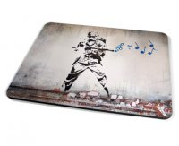 Kico Banksy Placemat - Soldier