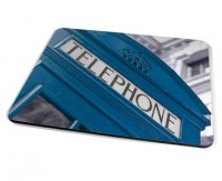 Kico Iconic Placemat - Blue Phonebox