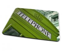 Kico Iconic Placemat - Green Phonebox