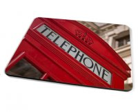 Kico Iconic Placemat - Red Phonebox
