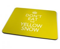 Kico Keep Calm Placemat - Yellow Snow