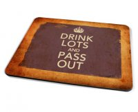 Kico Keep Calm Vintage Placemat - Drink Lots