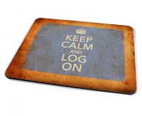 Kico Keep Calm Vintage Placemat - Log On
