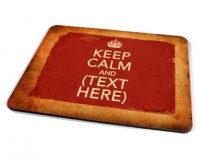 Kico Keep Calm Vintage Placemat - Keep Calm Personalised