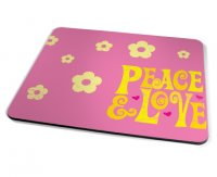 Kico Kids Stuff Placemat - Peace and Love