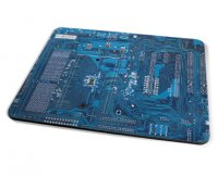 Kico Gaming Placemat - Blue Circuit Board