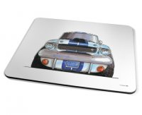 Kico Automotive Placemat - Shelby Mustang Blue