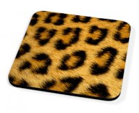 Kico Animal Skin Coaster - Leopard