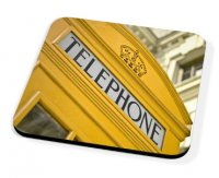 Kico Iconic Coaster - Yellow Phonebox
