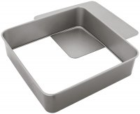 Judge Bakeware Square Cake Tin Loose Base 30 x 30 x 7cm/11¾ x 11¾ x 2¾""
