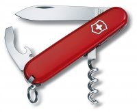 Victorinox Waiter Swiss Army Knife Multi Tool Red