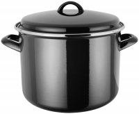 Judge Induction Stockpot 24cm - Black