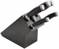 Stellar James Martin Knife Collection 5 Piece Knife Block Set - Black