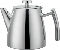 Café Stål Belmont Double Wall 42oz Satin Finish Teapot