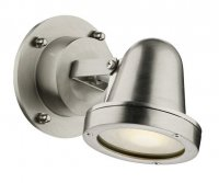 David Hunt Cove Spotlight Wall Nickel IP44