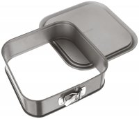 Judge Bakeware Square Cake Tin Springform 23 x 23 x 7cm/9 x 9 x 2½""