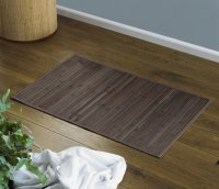 COUNTRY CLUB Non-slip Eco Friendly Bamboo Bath Mat - Brown
