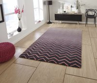Think Rugs Spectrum SP22 Grey/Pink