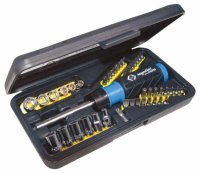 C.K Ratchet Bit and Socket Set 46 Piece