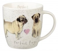 Churchill Alex Clark Squash Pug Mug 390ml